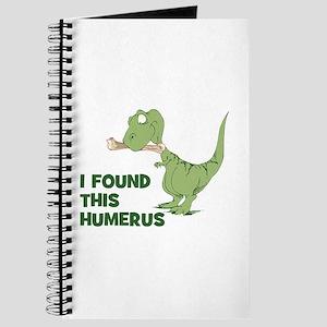 Cartoon Dinosaur Journal