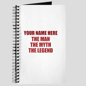 Custom Man Myth Legend Journal