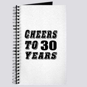 Cheers To 30 Journal