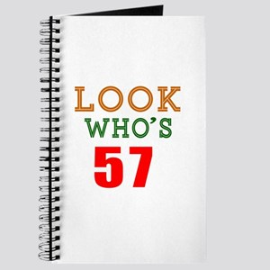Look Who's 57 Journal