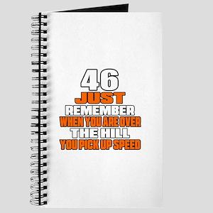 46 Just Remember Birthday Designs Journal