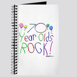 70 Year Olds Rock ! Journal