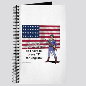 Press 1 for English Journal