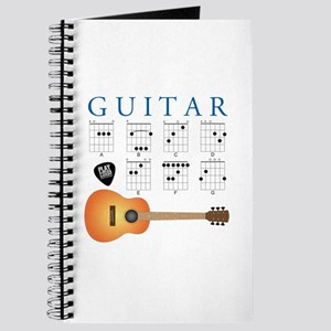 Guitar 7 Chords Journal