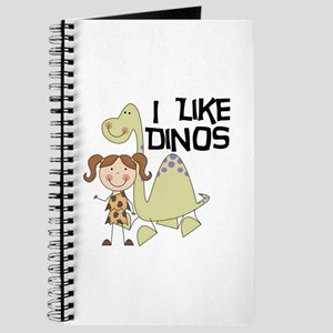 Girl I Like Dinos Journal