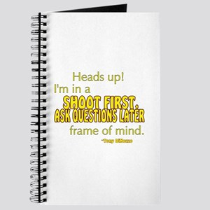 NCIS Quote: Shoot First Journal