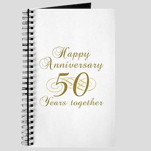 50th Anniversary (Gold Script) Journal