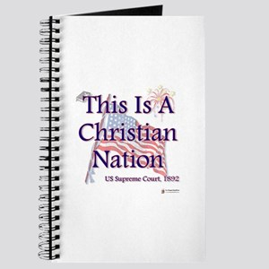 This is a Christian Nation Journal