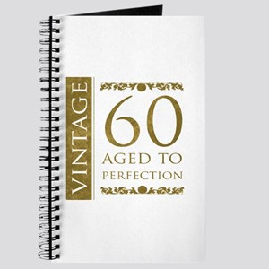 Fancy Vintage 60th Birthday Journal