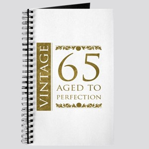 Fancy Vintage 65th Birthday Journal
