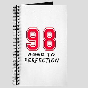 98 Year birthday designs Journal