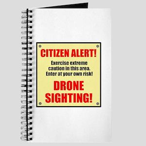 Citizen Alert! Drone Sighting! Journal
