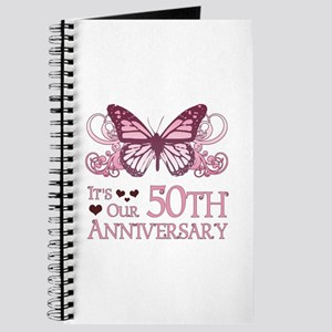50th Wedding Aniversary (Butterfly) Journal