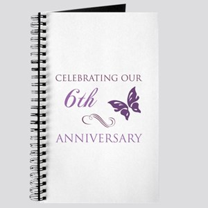 6th Wedding Aniversary (Butterfly) Journal
