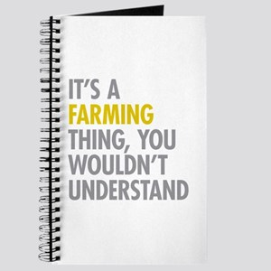 Its A Farming Thing Journal