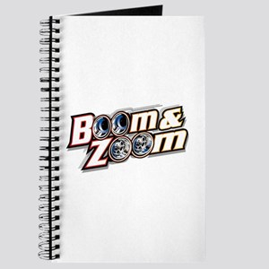 Journal w/Boom & Zoom Logo