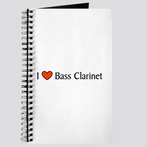 Bass Clarinet Gift Journal