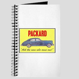"""""""1946 Packard Slogan"""" Journal"""