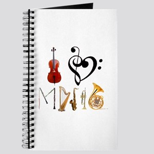 I Love Music Journal