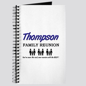 Thompson Family Reunion Journal