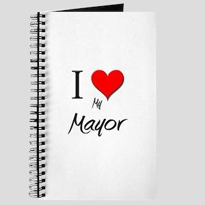 I Love My Mayor Journal