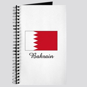 Bahrain Flag Journal