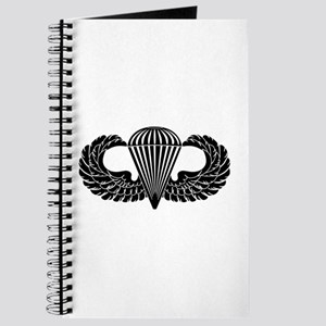 Parachutist -- B-W Journal
