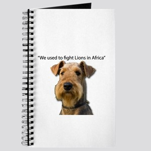 Airedales used to Fight Lions in Africa wi Journal