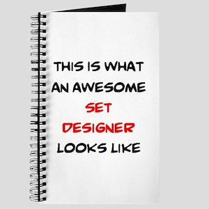 awesome set designer Journal