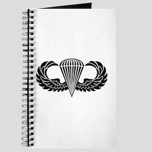 Jump Wings Stencil Journal