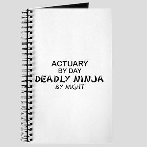 Actuary Deadly Ninja Journal