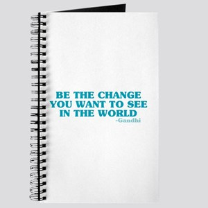 Be The Change You Want Journal