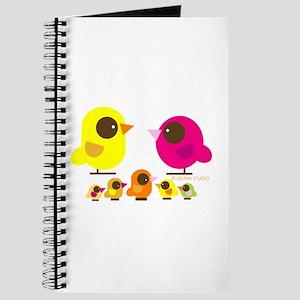 """""""birds + 5 birdies"""" Journal"""
