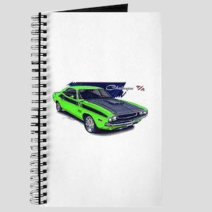 Dodge Challenger Green Car Journal