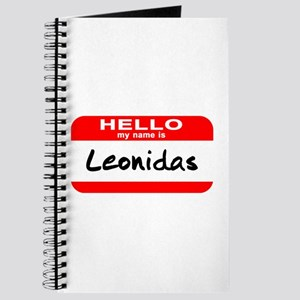 Hello My Name is Leonidas Journal