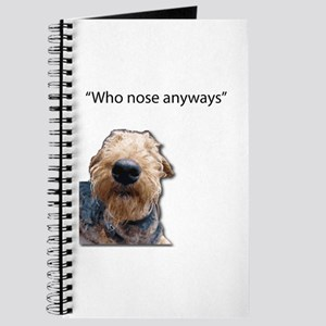 Airedale Terrier Friends Journal