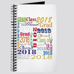 2018 Graduation Typography Journal
