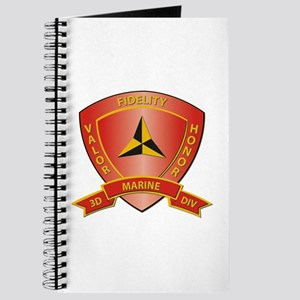 USMC - HQ Bn - 3rd Marine Division Journal