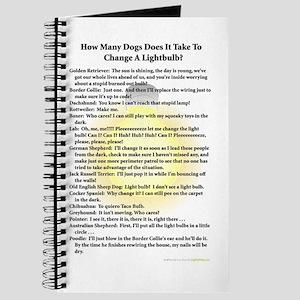 Dogs Change Lightbulb Journal