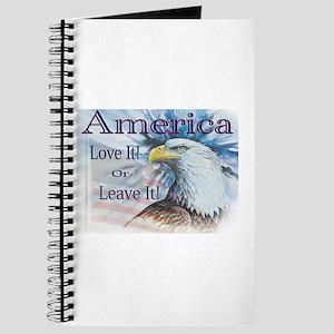 America Love It or Leave It Journal