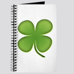 Lucky Irish Four Leaf Clover Journal