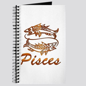 Bronze Pisces Journal