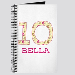 10th Birthday Personalized Journal