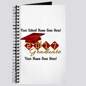 Graduate 2017 Red Gold Journal