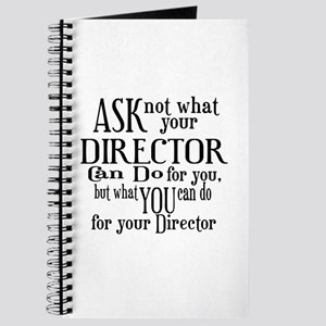 Ask Not Director Journal