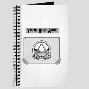 Youre Never Alone Journal
