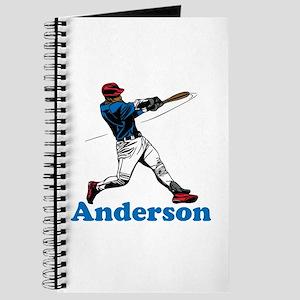 Personalized Baseball Journal