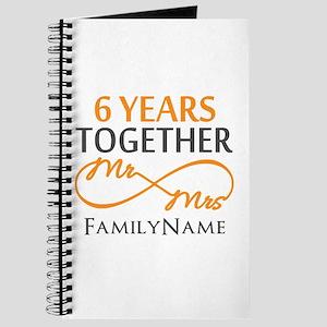 6th anniversary Journal