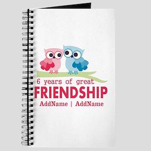 6th anniversary couple Journal