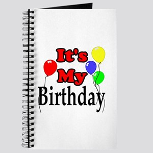 Its My Birthday Journal